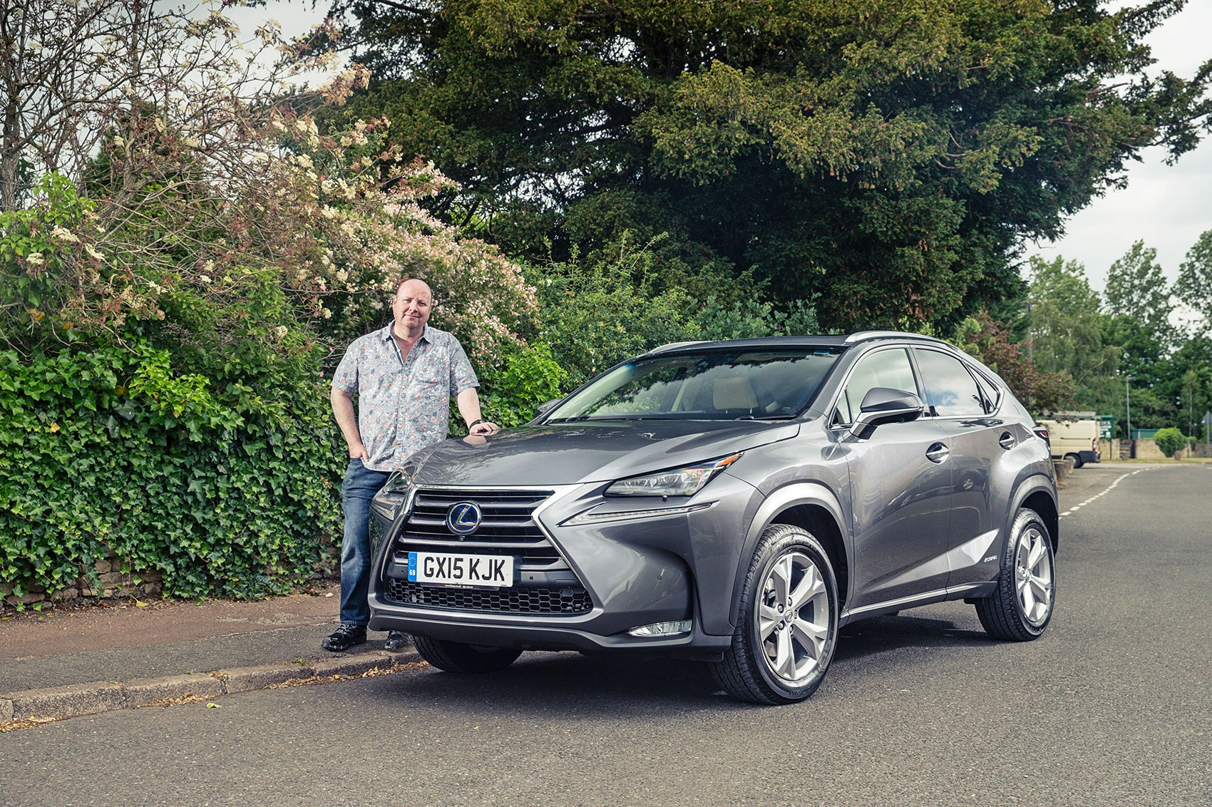 Car S Greg Fountain Tries To Avoid Losing An Eye On The Pointy Lexus Nx300h