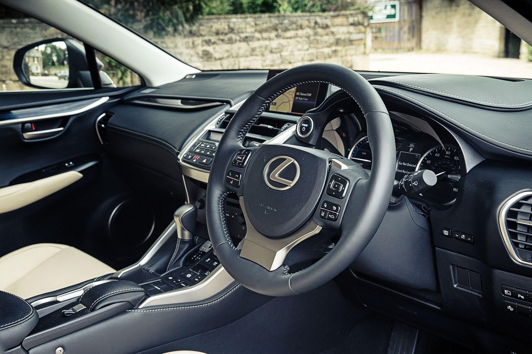 lexus nx300h hybrid 2016 long term test review by car magazine. Black Bedroom Furniture Sets. Home Design Ideas