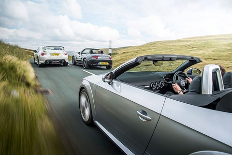 Radio 1 in the GT86, 6 Music in the MX-5, the Today programme in the TT