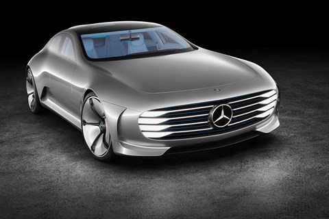 The incredible shape-shifting Mercedes-Benz IAA