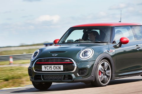 John Cooper Works Mini: the most powerful car on test