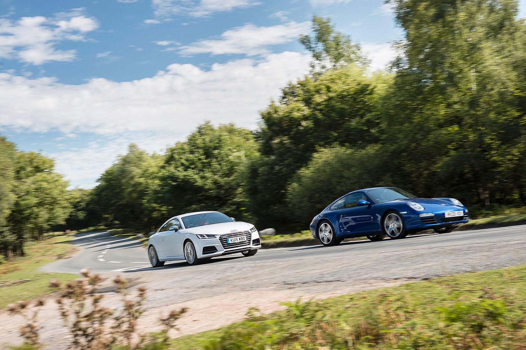 Icon Buyer New Audi Tts Vs Used Porsche 911 C4s Car