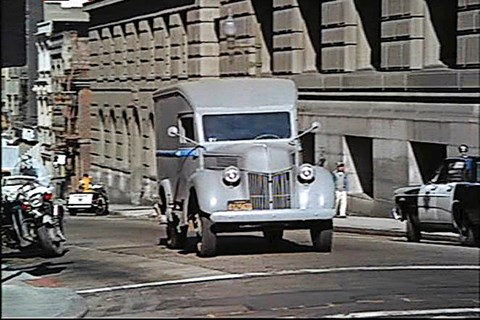 Ford Police Van