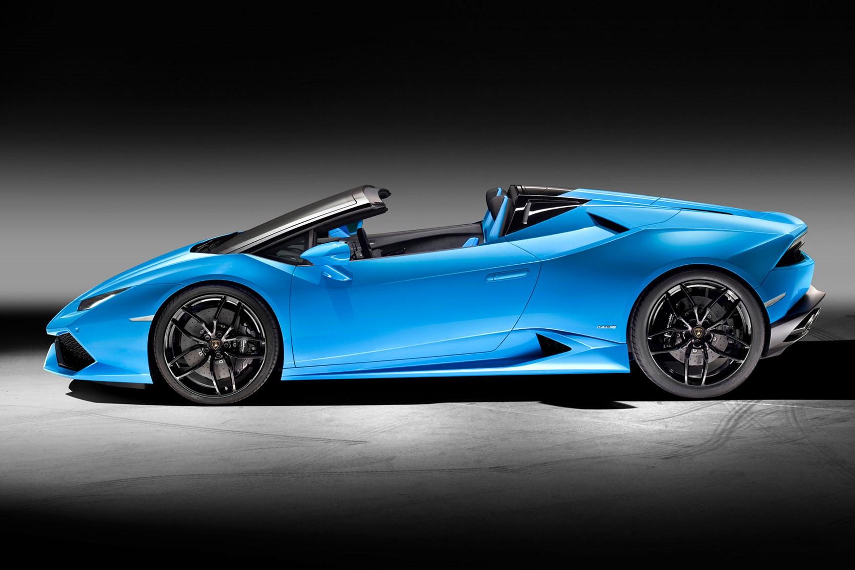 Lamborghini Huracan Lp 610 4 Spyder 2015 The Huracan