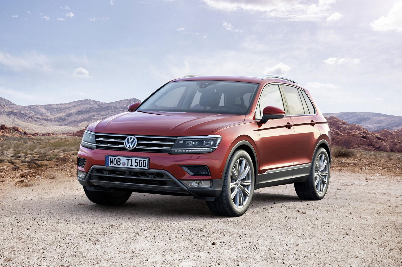 New VW Tiguan crossover bows in - with solar-panelled GTE ...