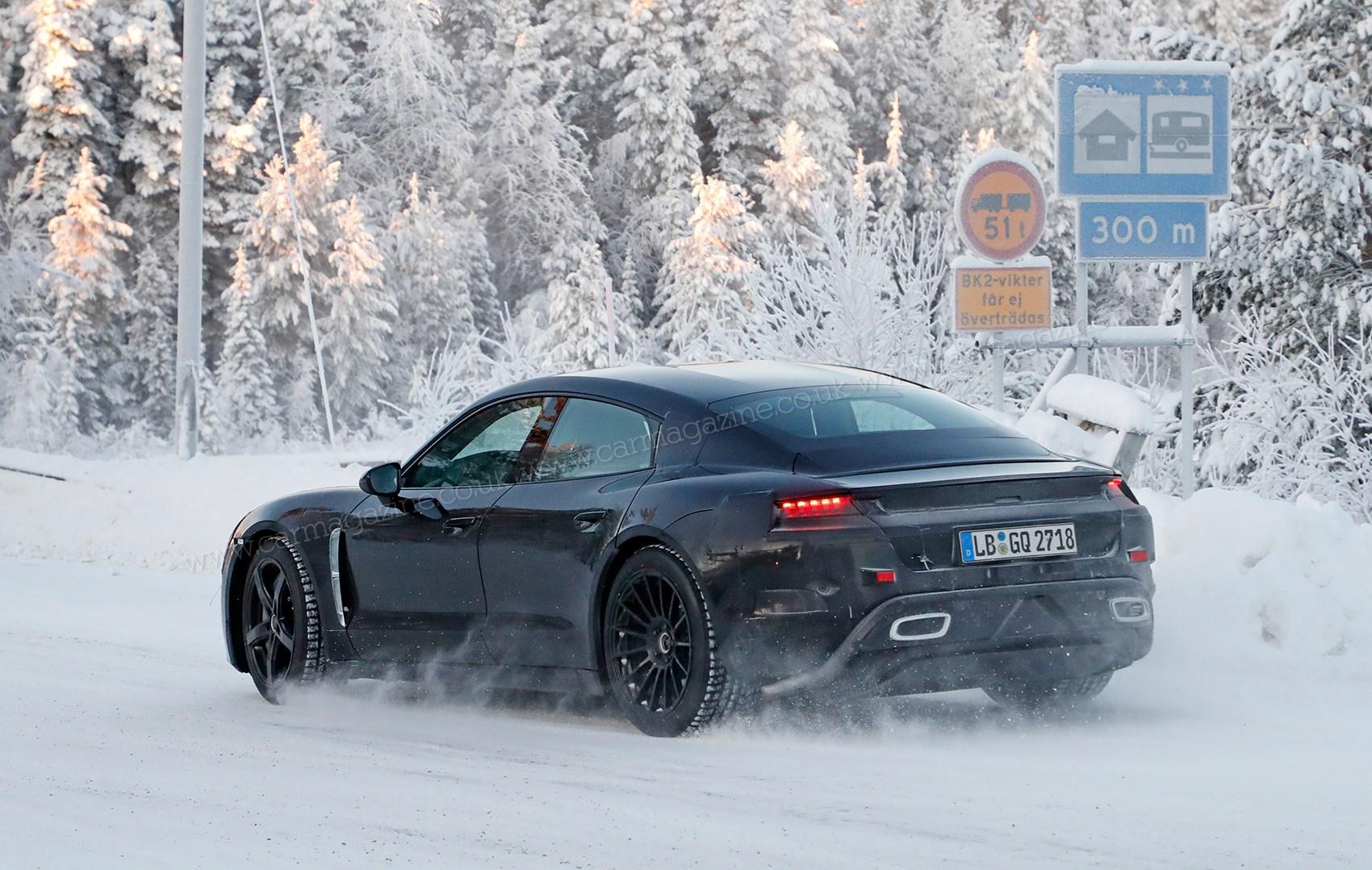 Porsche Taycan Performance Model To Get Turbo Badge Car Magazine