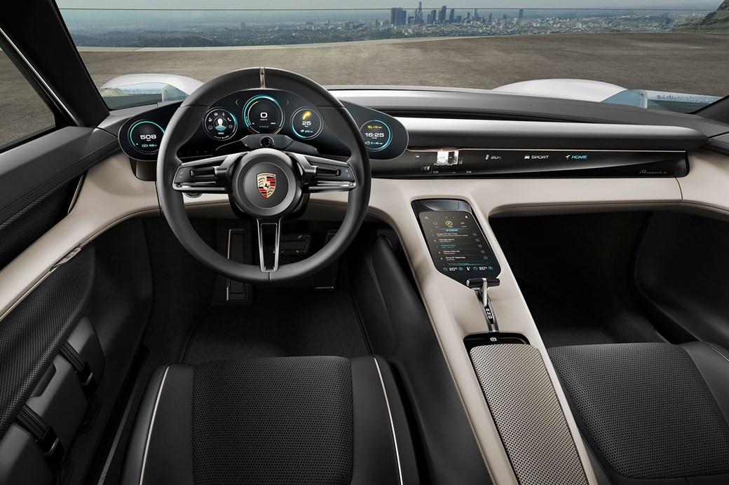 Inside the Porsche Mission E