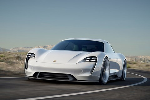 Mission E: a new kind of Porsche