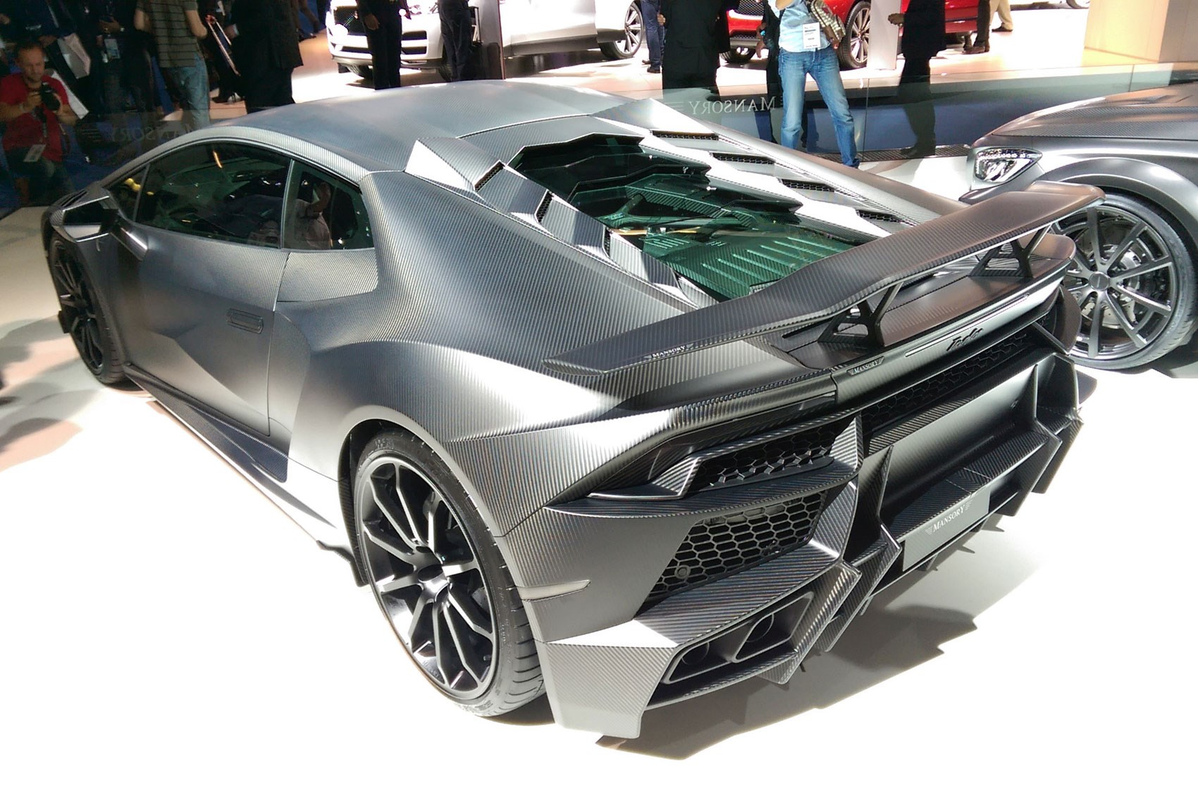 ott at iaa 2015 the craziest tuner cars at the frankfurt show by car magazine. Black Bedroom Furniture Sets. Home Design Ideas