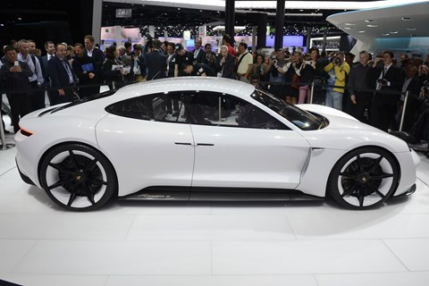 The Porsche Mission E: an electric future