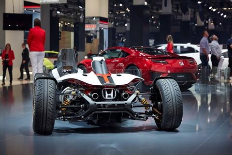 Honda Project 2&4: Honda back to its barmiest best