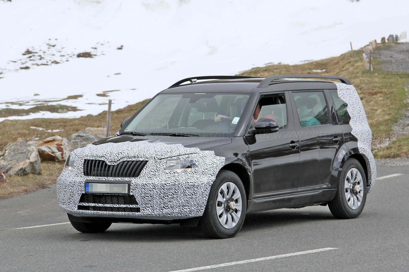 Skoda yeti 2017 review release date new automotive trends skoda - Largest Skoda Suv Will Be Available As A Seven Seater