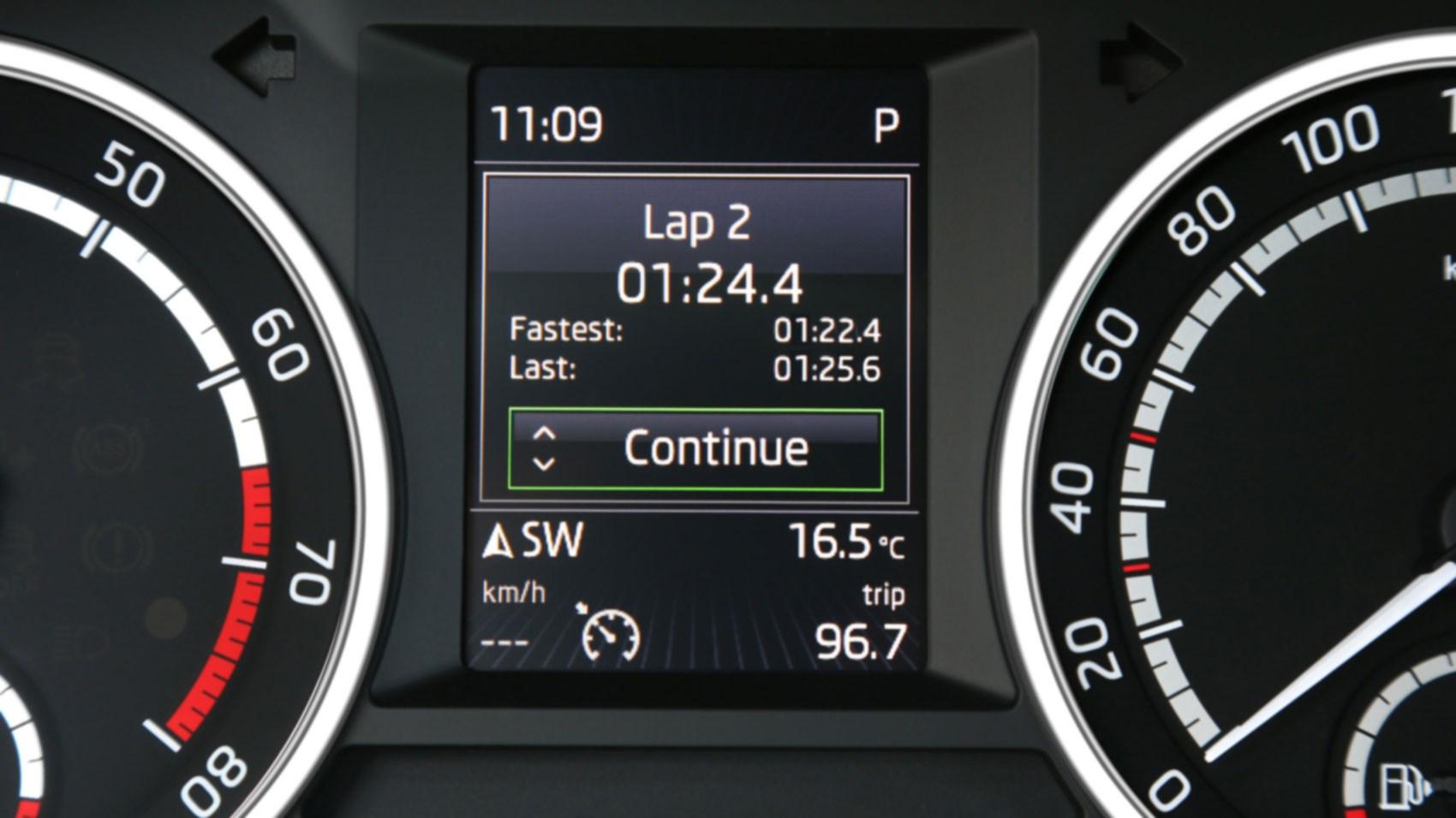 Skoda octavia vrs 230 2015 review by car magazine for Skoda frankfurter ring