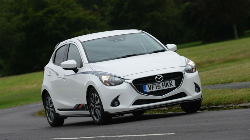 Ironic The Mazda 2 Black We Tested Was Err White