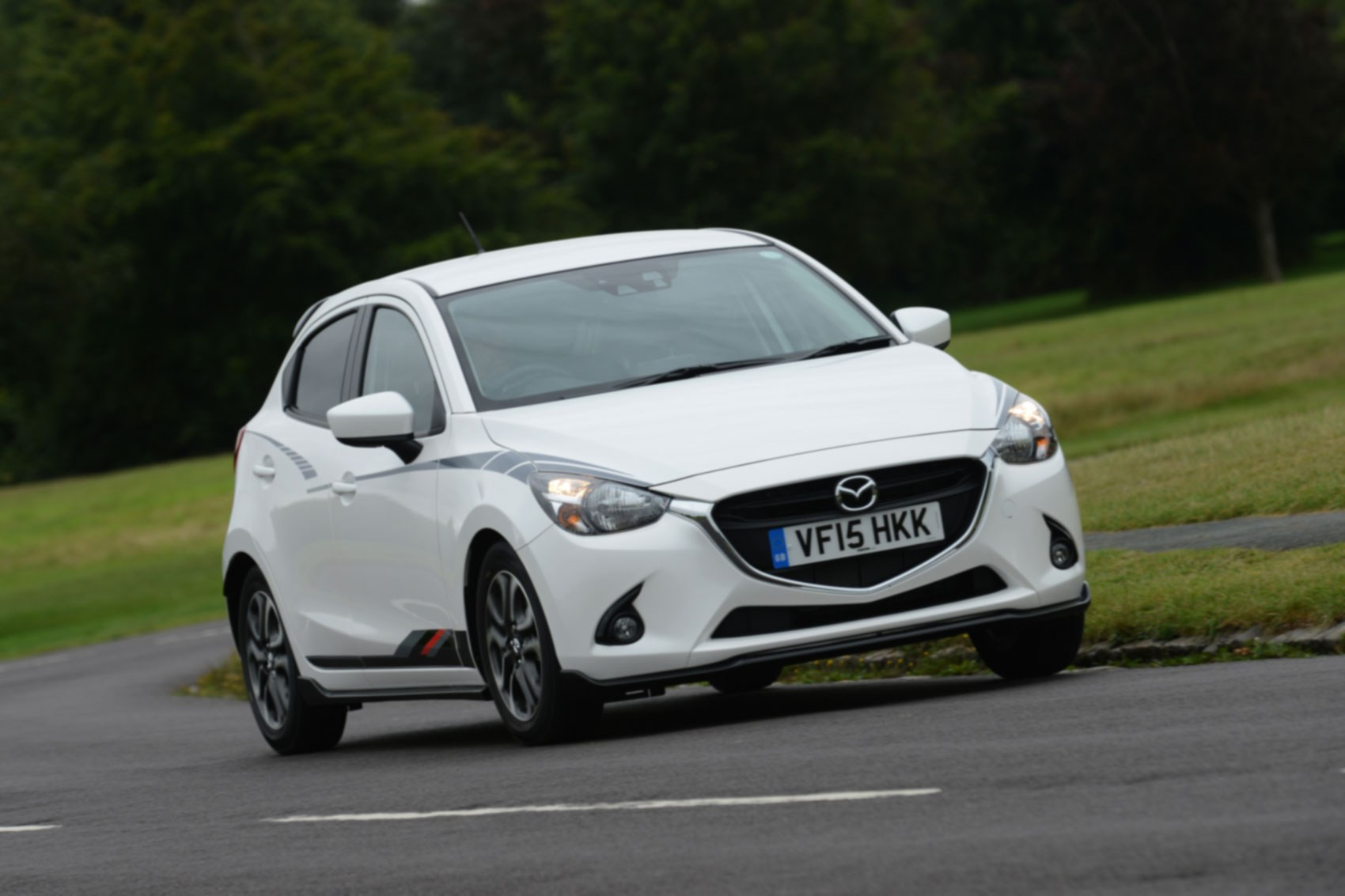 mazda 2 1 5 sport black 2015 review by car magazine. Black Bedroom Furniture Sets. Home Design Ideas