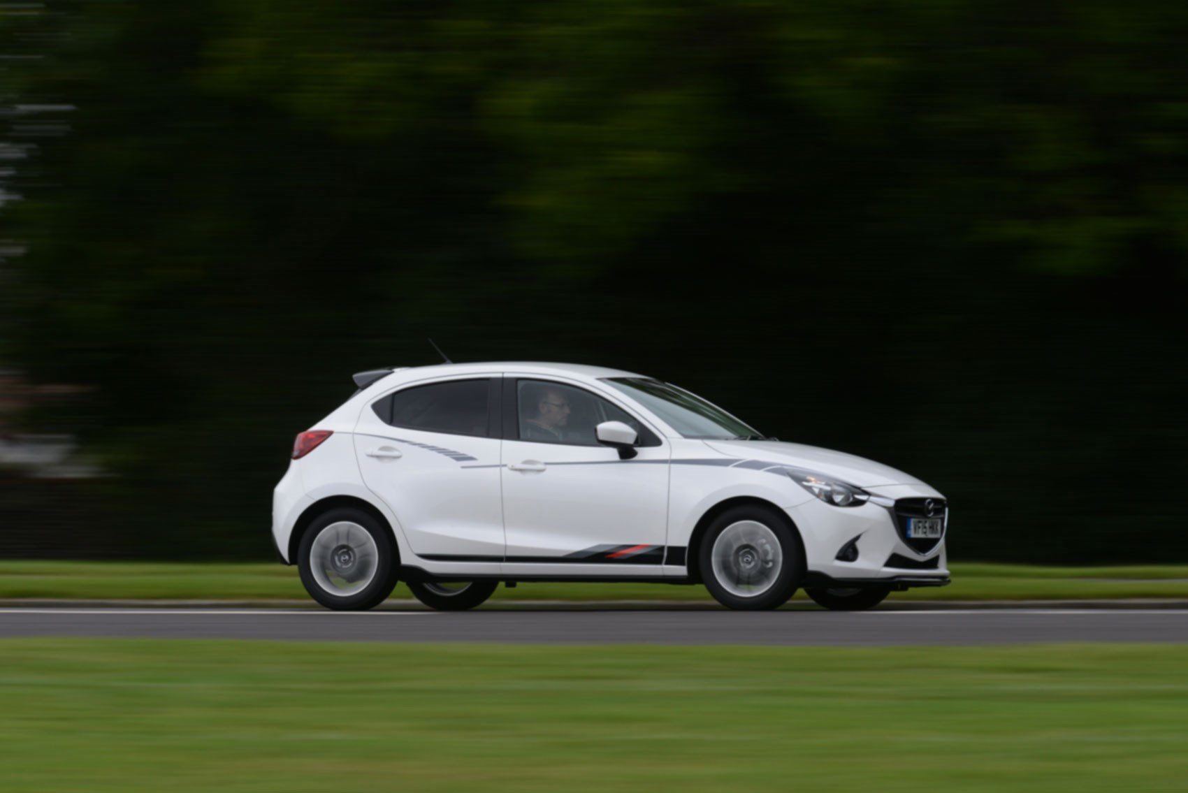 Five doors only for the mazda 2