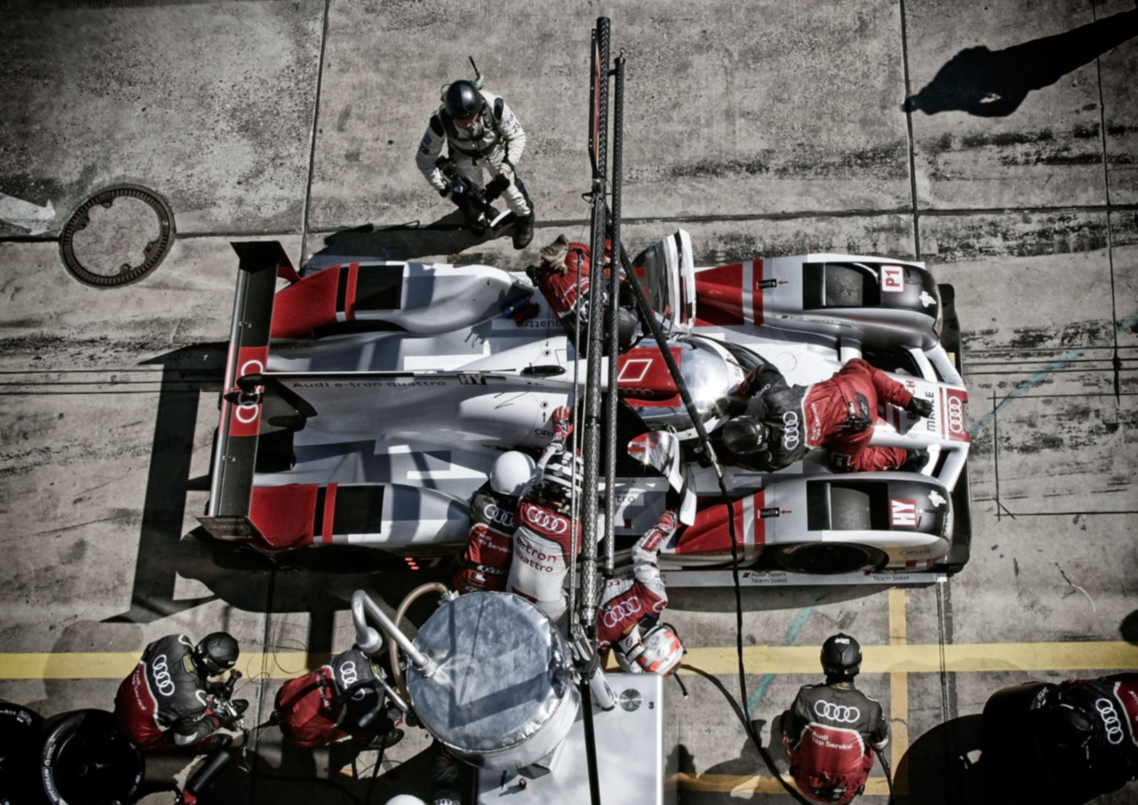 Audi Readying F1 Team With Red Bull In 2018 Will Quit Wec Endurance