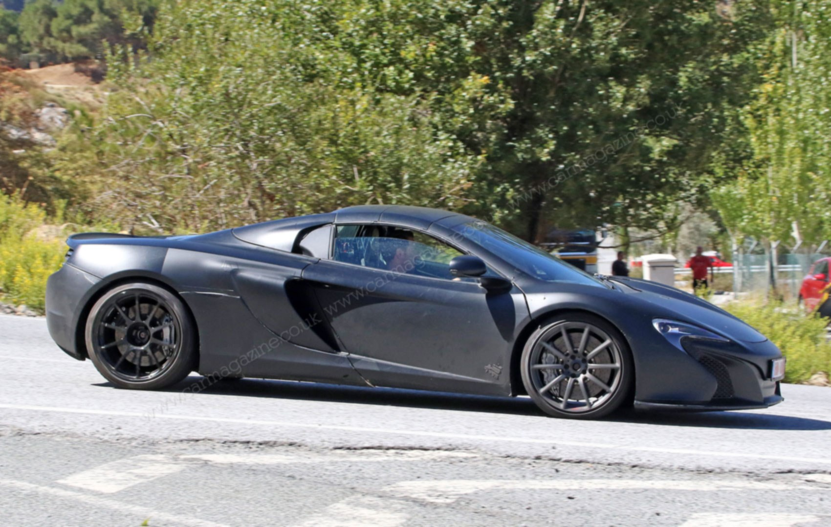 mclaren 675 lt spider is coming but this ain t it car magazine