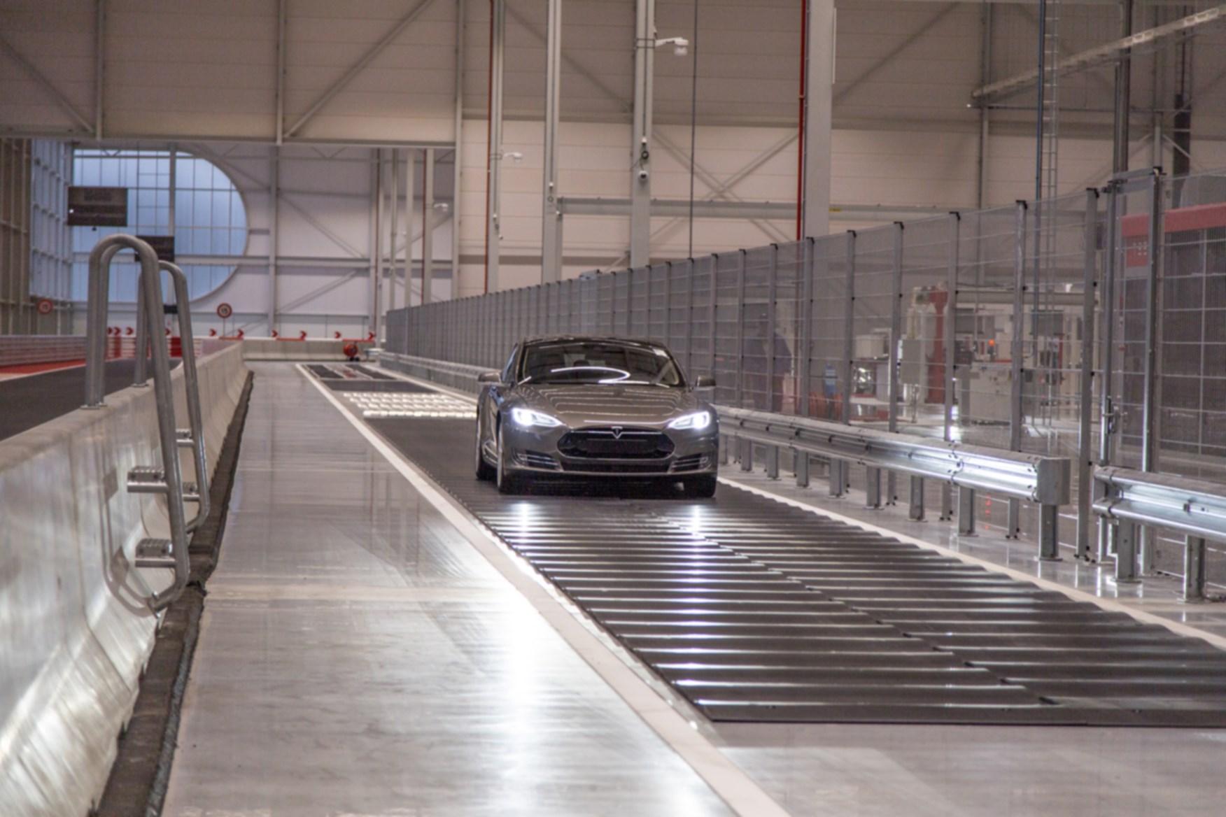 Tesla tilburg factory