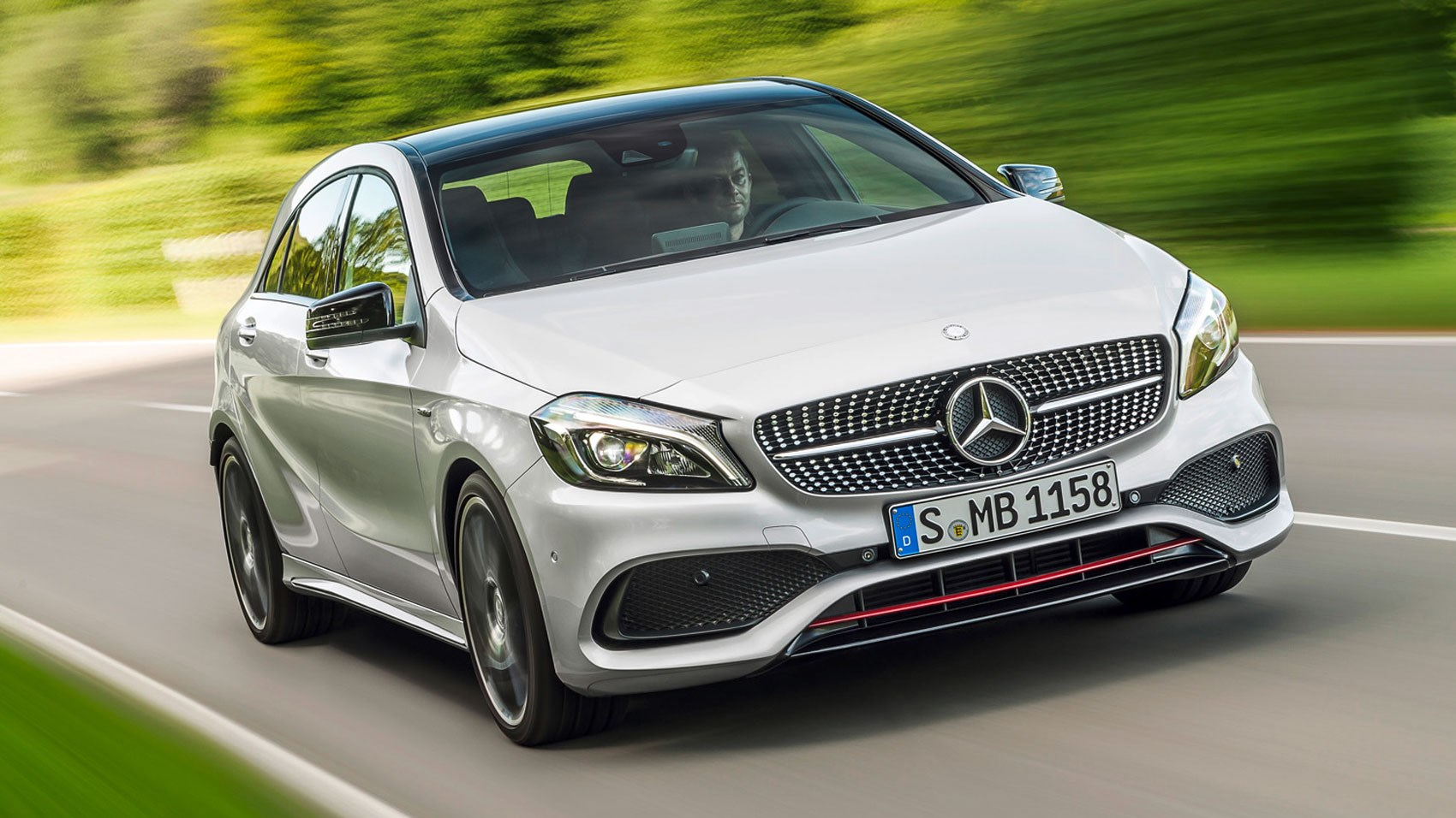 mercedes benz a250 amg 2015 review car magazine. Black Bedroom Furniture Sets. Home Design Ideas