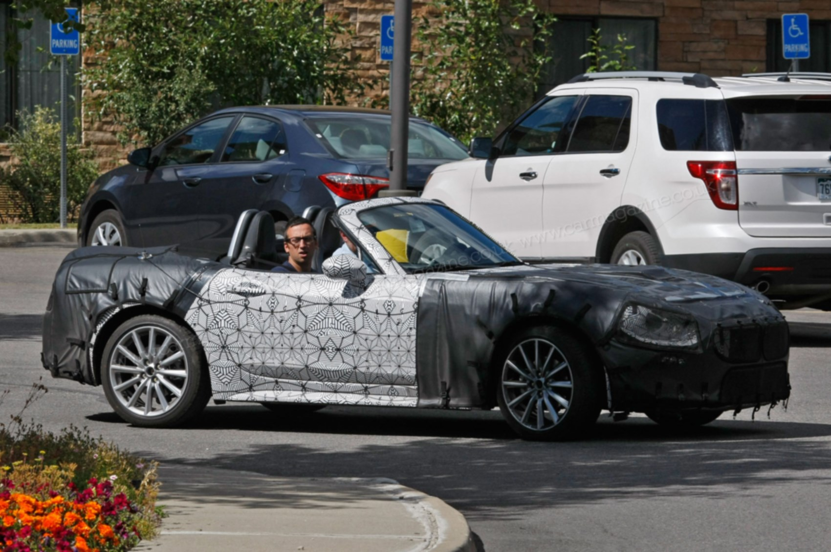 Caught On Candid Camera The New 2016 Fiat Sports Car