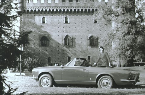 The Fiat 124 Spider from 1966-1969