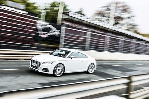 Audi TT S on the TT