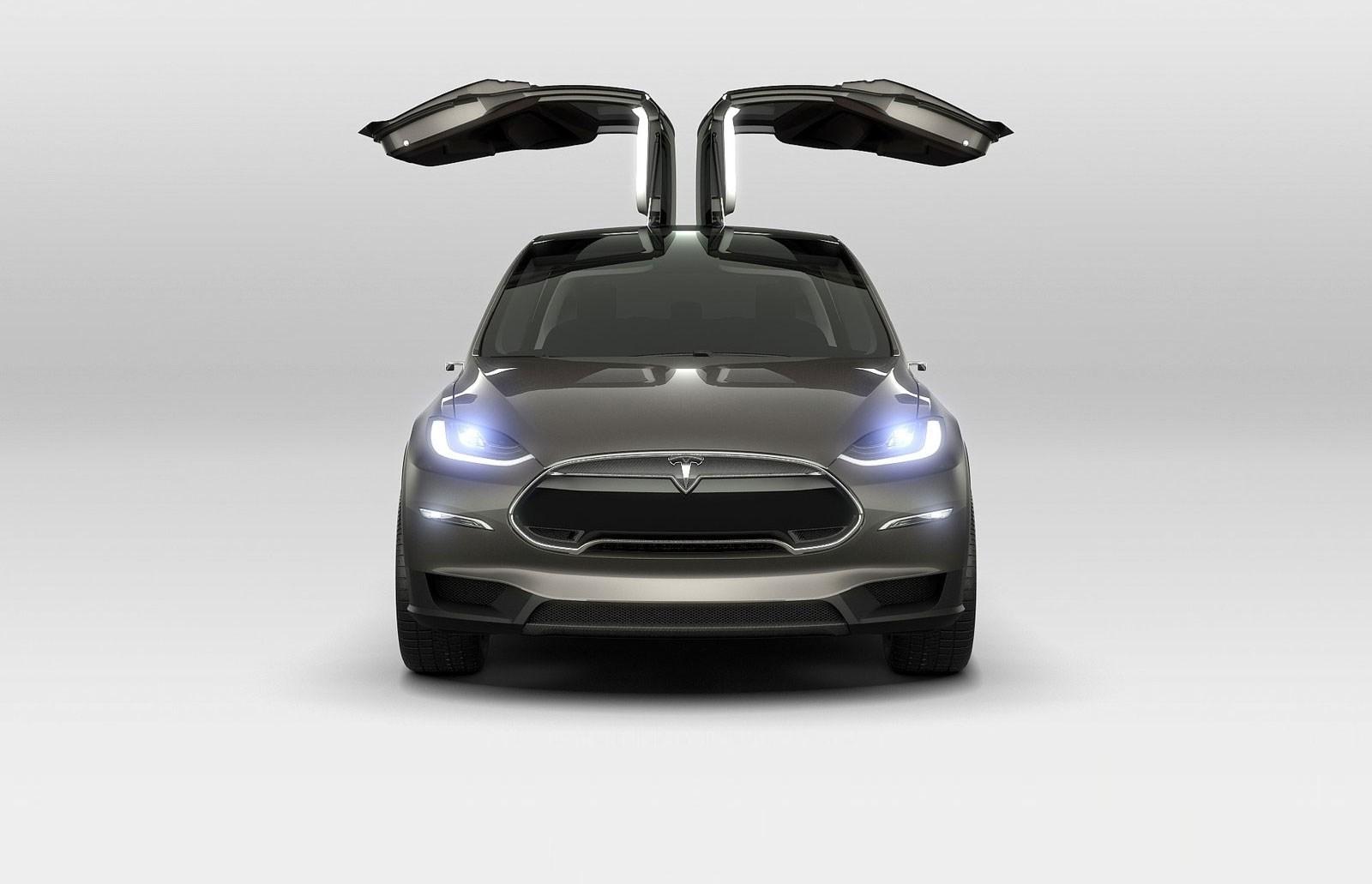 Tesla Model X By Car Magazine