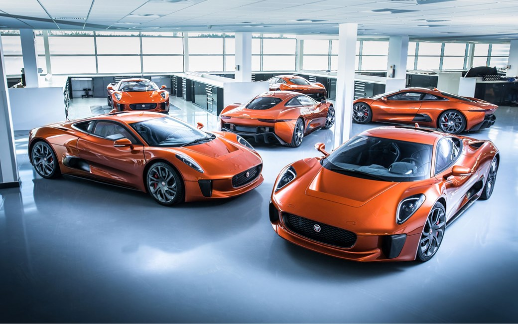 Jaguar C-X75s built for SPECTRE
