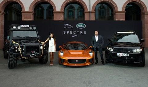 The cars of 2015 James Bond film SPECTRE