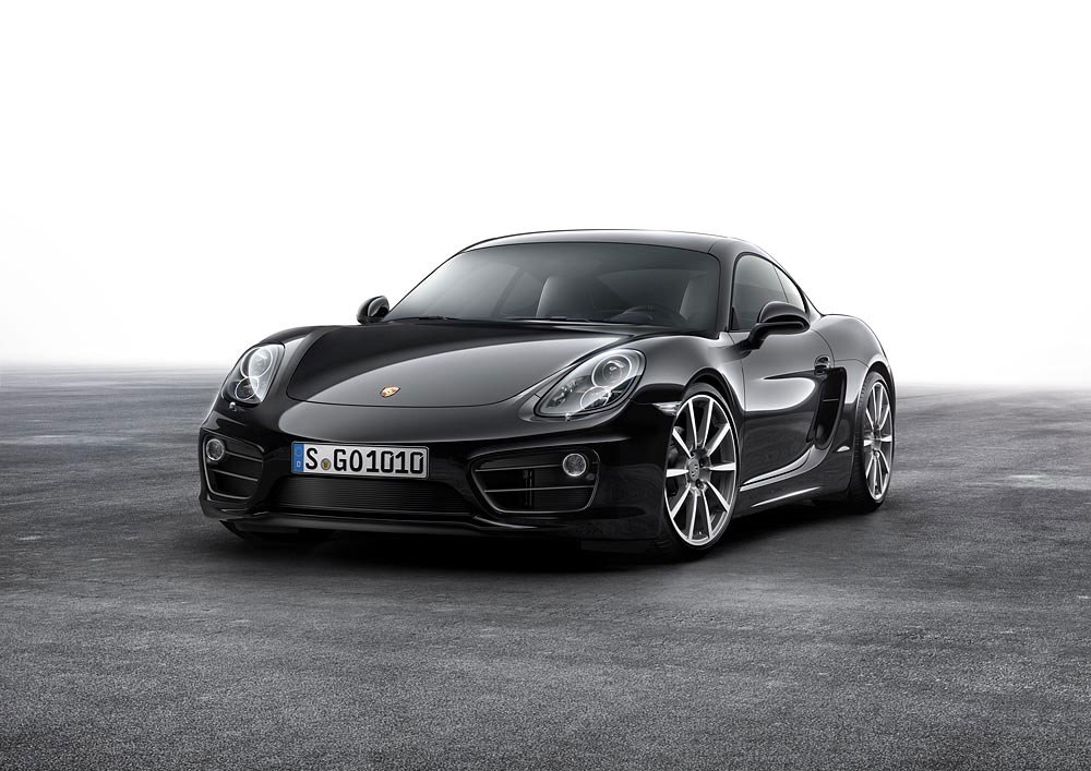 facelift ahoy porsche rolls out cayman black edition. Black Bedroom Furniture Sets. Home Design Ideas
