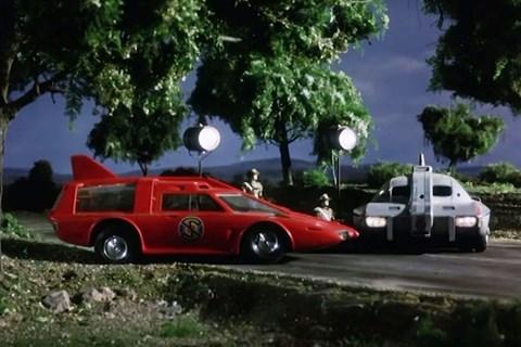 Captain Scarlet's car