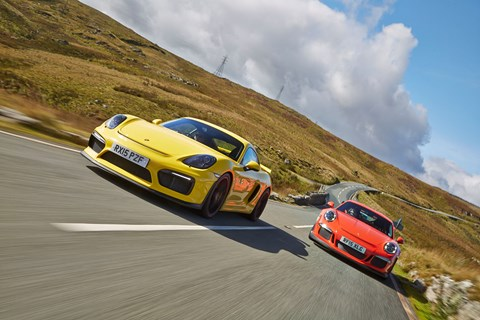 Two Porsches in the same test? A ridiculous notion, until you drive them drive them