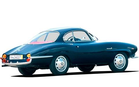 The 1957 Giulietta SS