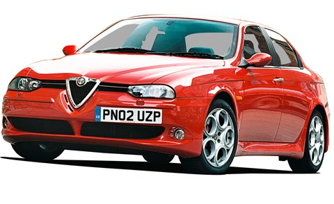 The 1997 Alfa 156 Saloon