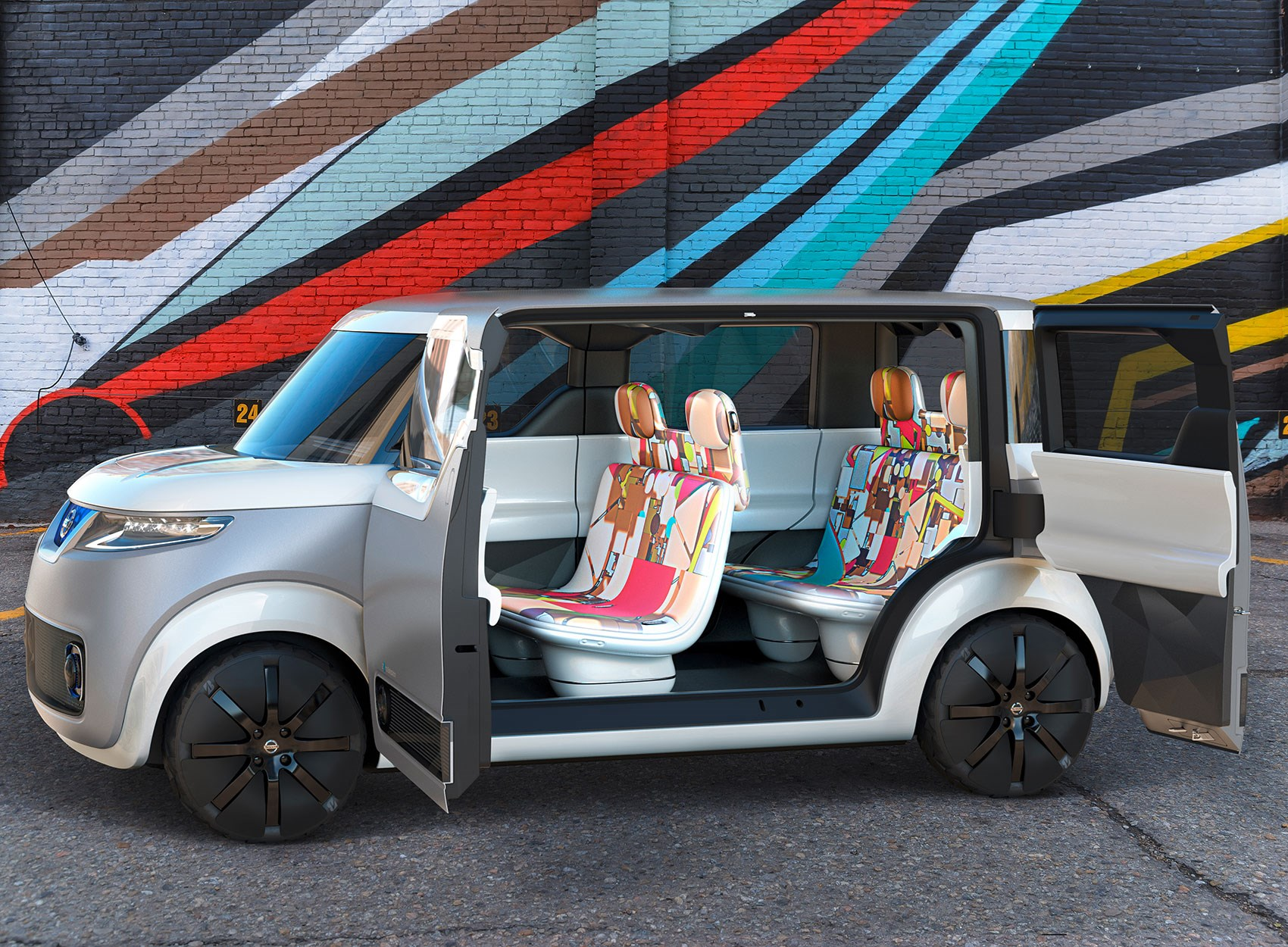 Nissan teatro for dayz concept 2015 targets digital natives by car magazine - Car design show ...