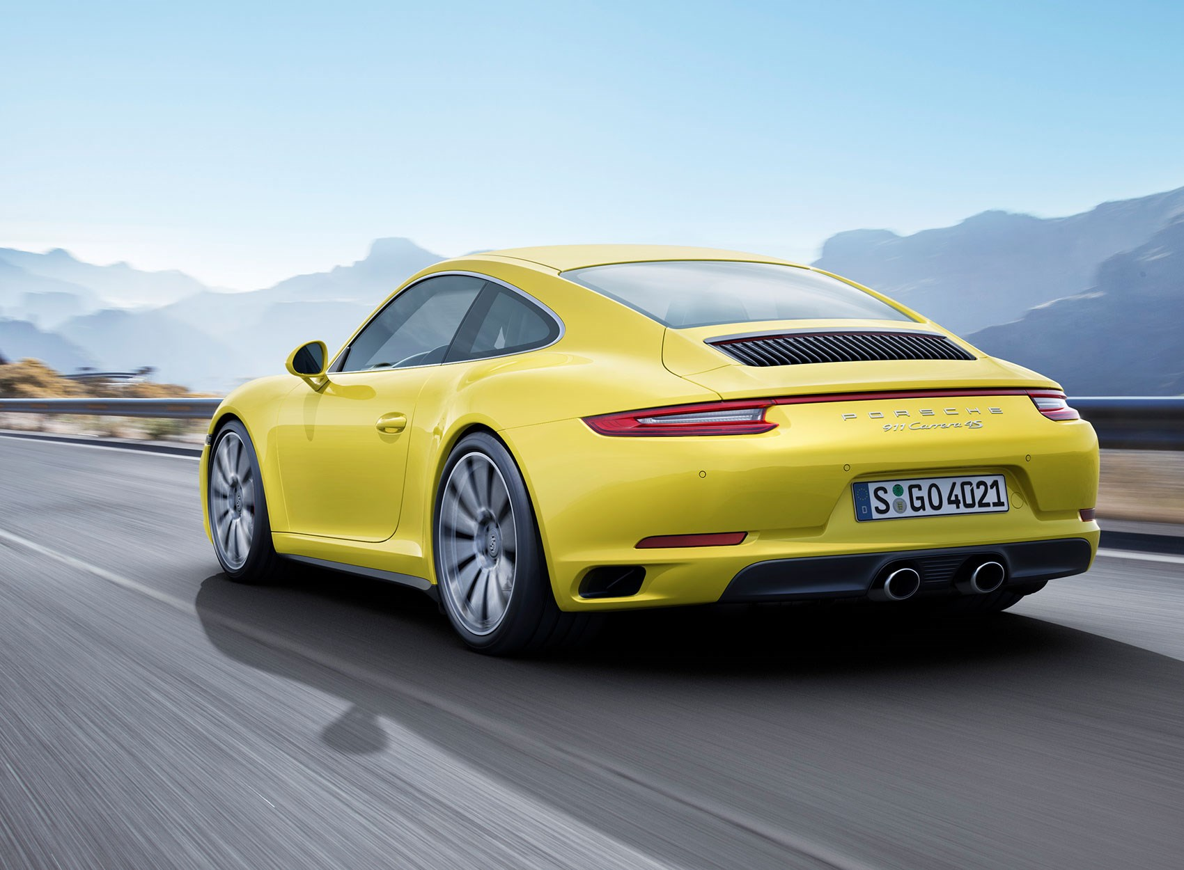 Turbo über Alles 2016 Carrera 4 And Targa Join Porsche 911 Revolution