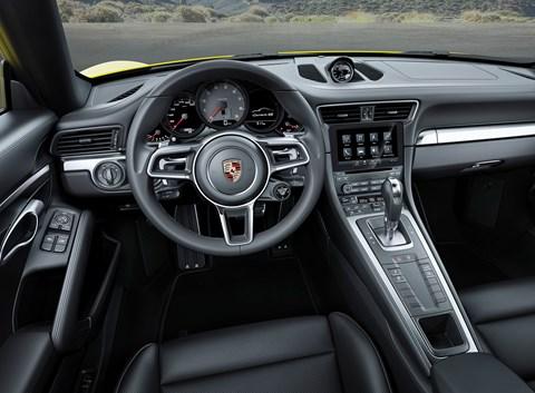 Behind the wheel of the Porsche 911