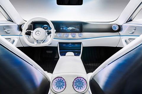 E-class interior preview