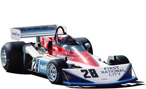 Team Penske's PC1-4 Ford Cosworth