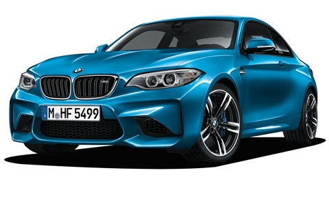 Bespoke engine, but M2's chassis and transmisssion are heavily M3/M4 inspired