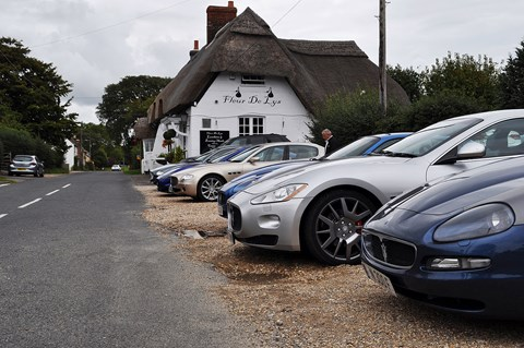 Maserati for lunch