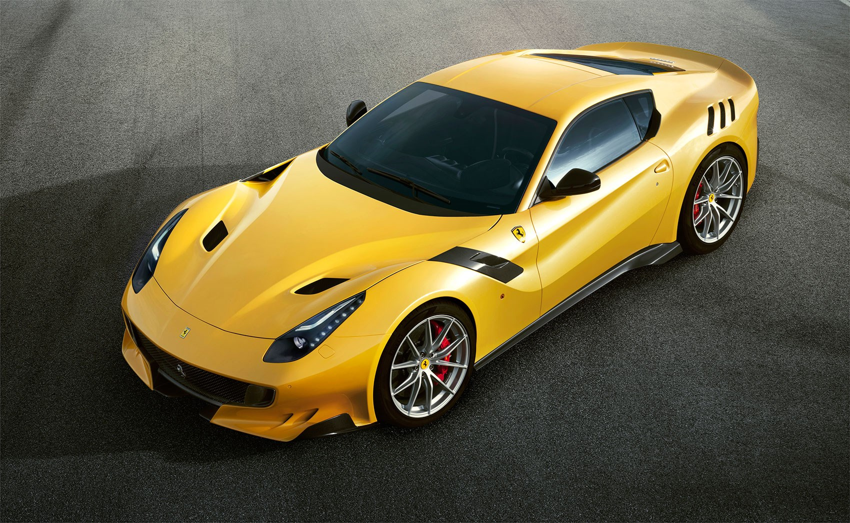 Introducing the new Ferrari F12 tdf not a typo another name for