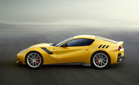 Ferrari F12 TDF: side profile