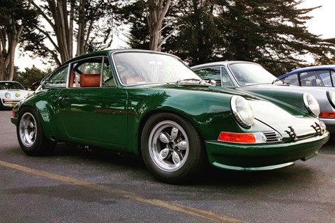 Wheelarches that even could turn a modern GT3 RS equally green with envy