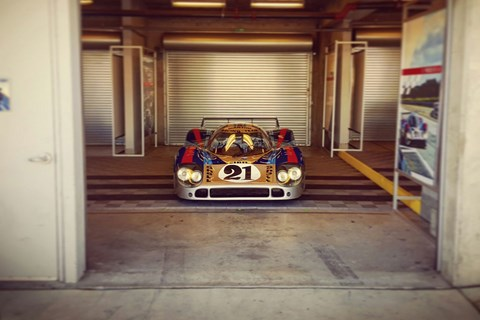 Gulf colour scheme not the only iconic Porsche 917 livery