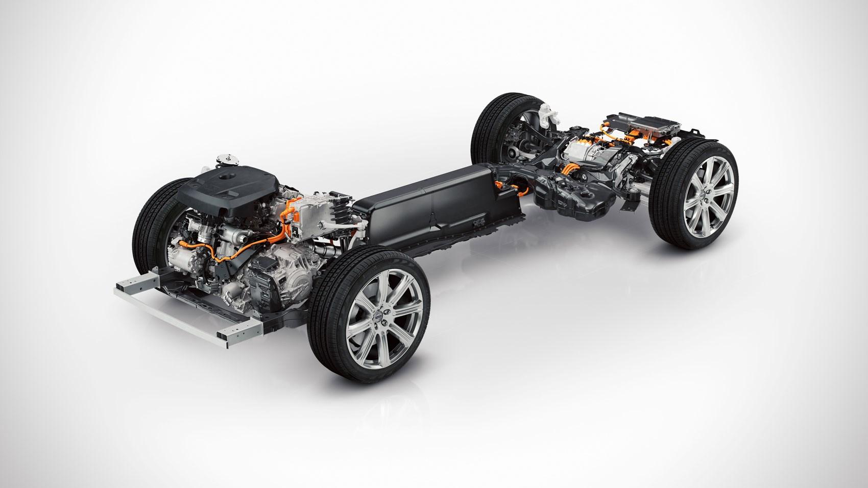 Volvo twin engine