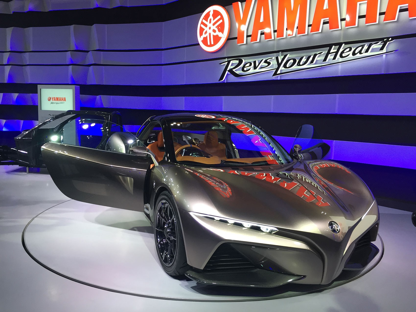 Yamaha Sports Ride Concept Sports Car For Tokyo By Car Magazine