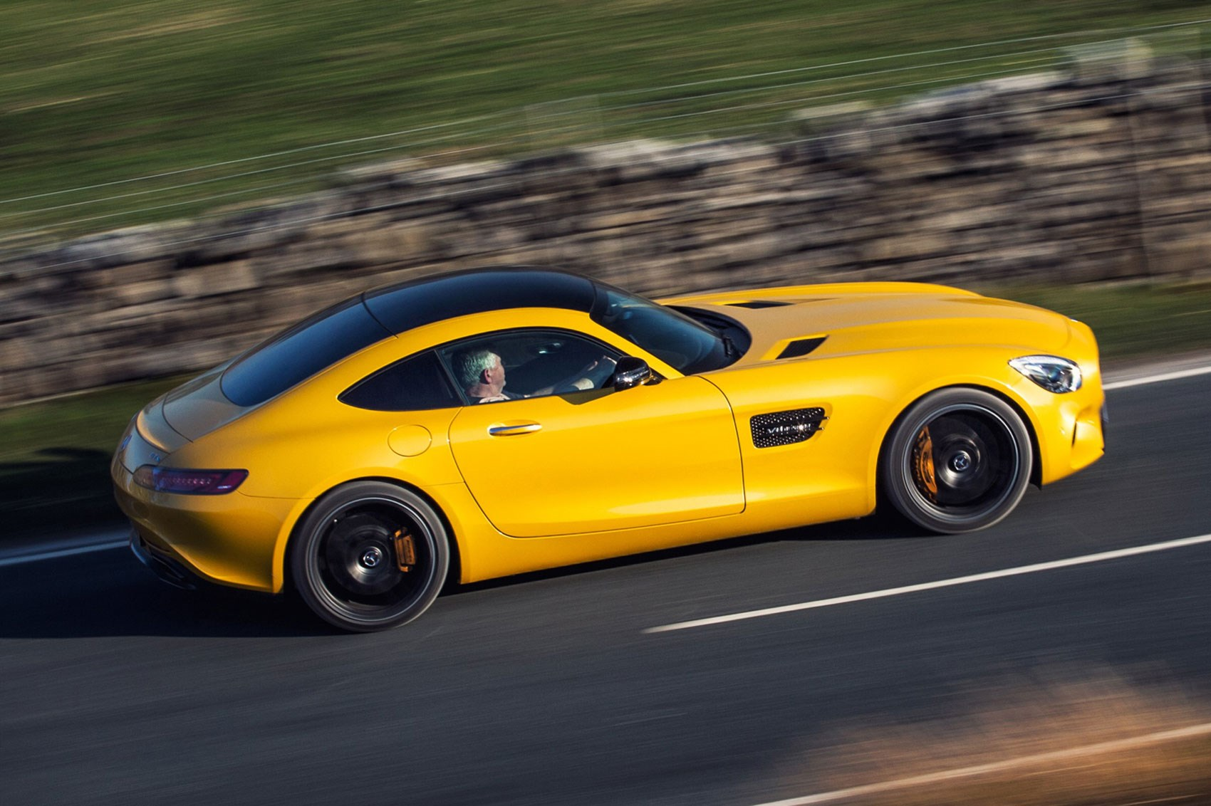 MercedesAMG GTS 2015 review by CAR Magazine