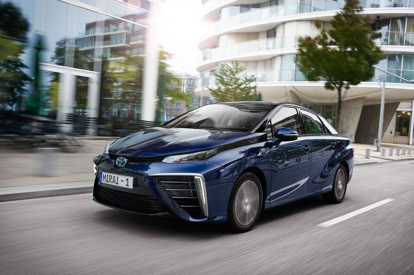 Toyota Mirai 2015 Hydrogen Fuel Cell Vehicle Review By
